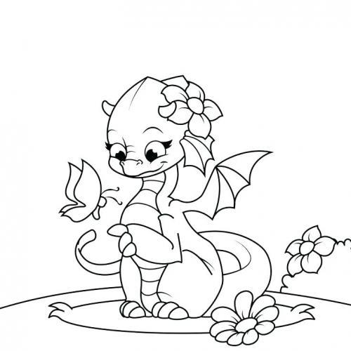 immagini draghi per bambini