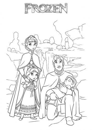 Elsa e Anna da bambine