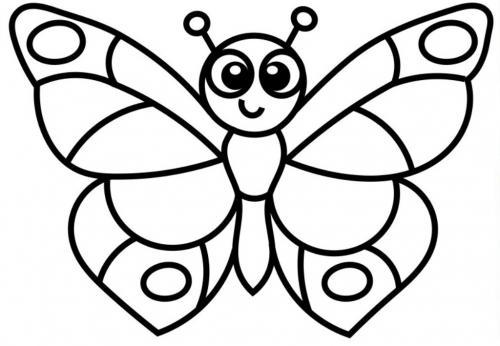 Immagini Di Farfalle 60 Disegni Da Stampare E Colorare A Tutto