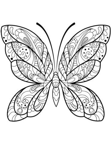 immagini farfalle stilizzate