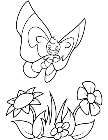 immagini farfalle sui fiori