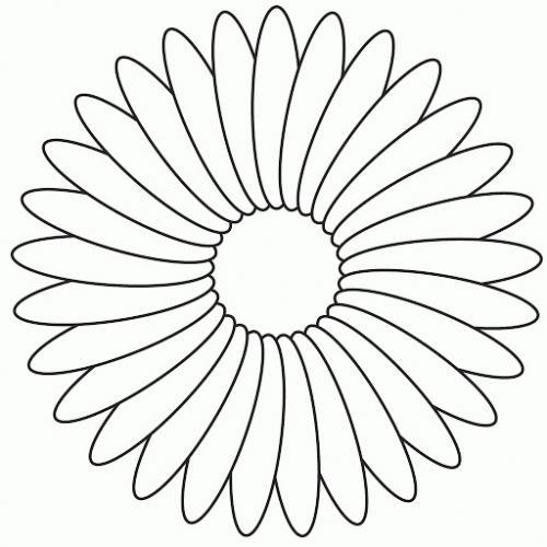 immagini fiori da colorare per bambini