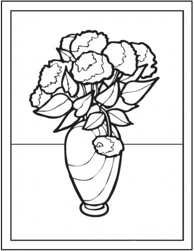 immagini fiori da disegnare