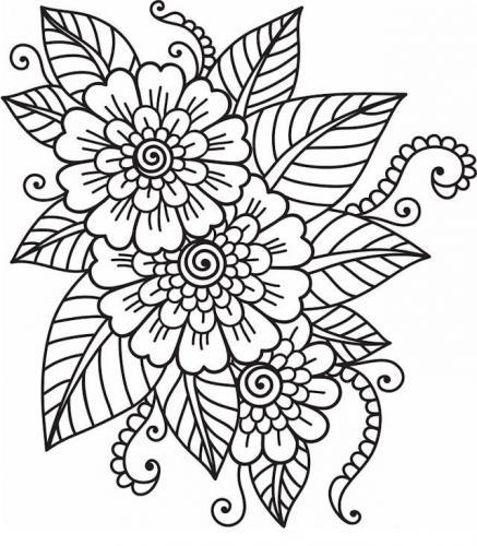 immagini fiori stilizzati