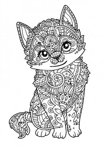 immagini gatti stilizzati