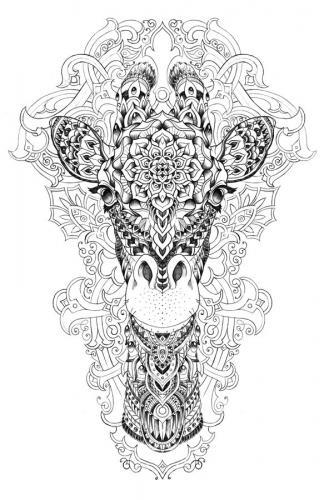 immagini giraffe divertenti pdf