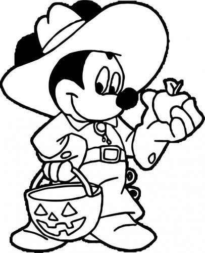 Topolino versione Halloween