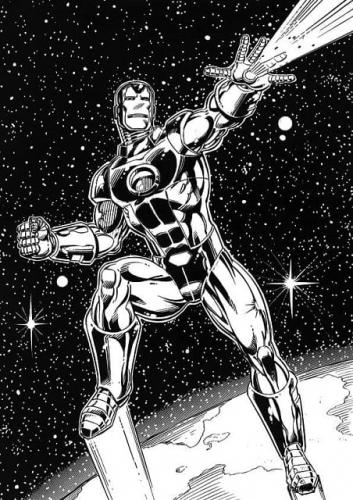 immagini Iron Man da colorare