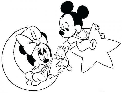 immagini minnie e topolino baby