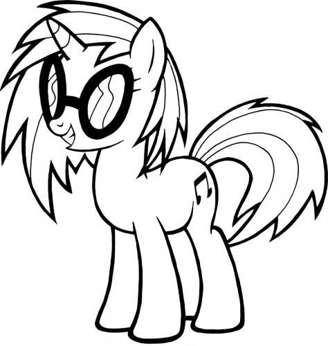 Immagini My Little Pony da colorare