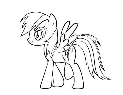 Immagini My Little Pony Rainbow Dash