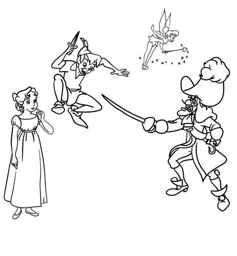 immagini Peter Pan film disney