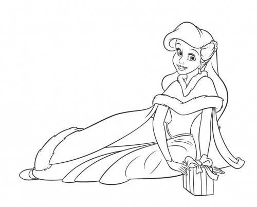 Ariel e un regalo