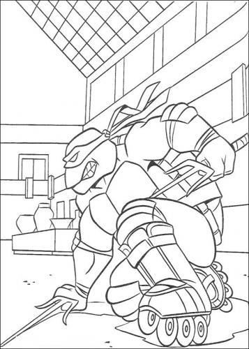 immagini raffaello tartarughe ninja