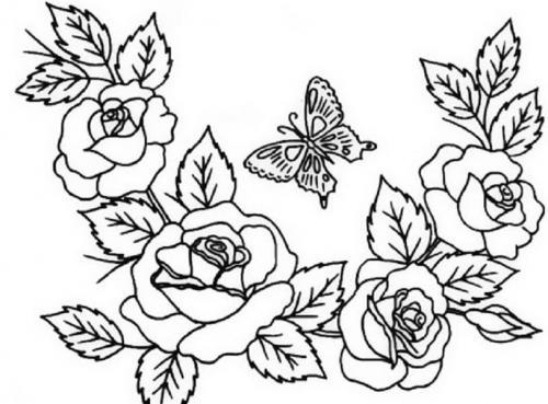 corona di rose