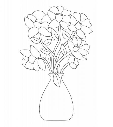 vaso con le rose
