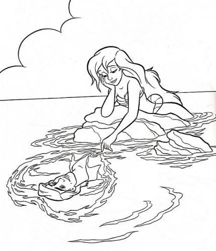 Ariel sogna il principe