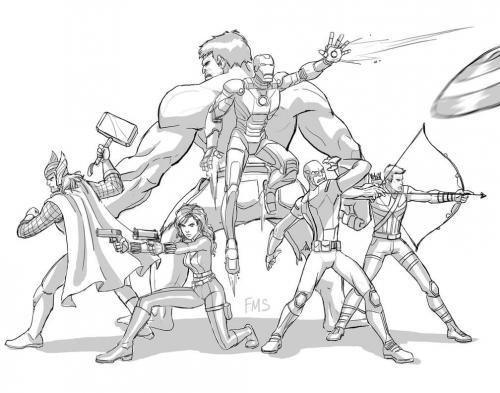 immagini The Avengers