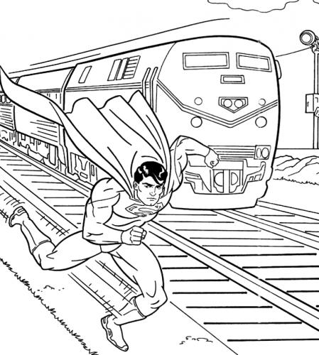 trenino e superman