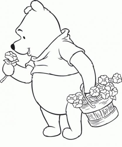 immagini winnie the pooh da colorare