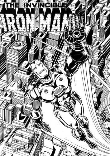 Iron Man cartoni