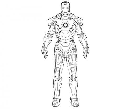 Disegni Da Colorare Con Iron Man.Avengers Da Colorare 90 Disegni Da Stampare A Tutto Donna