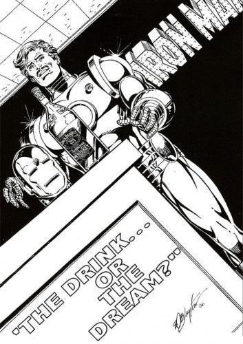 Iron Man disegno