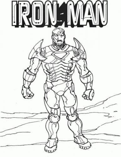 Iron Man The Avengers The Infinity War