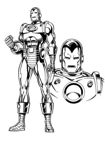 Iron Man cartone