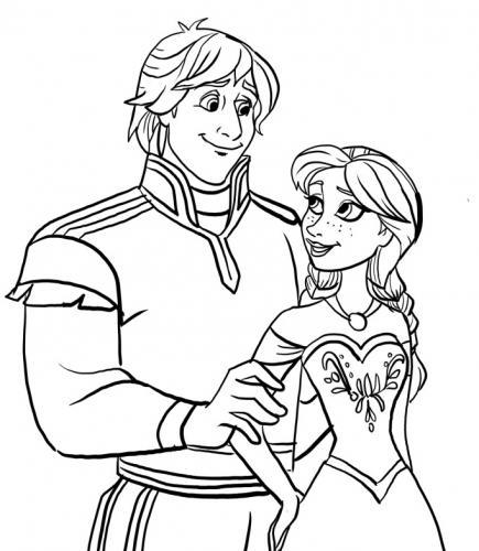 Kristoff e Anna