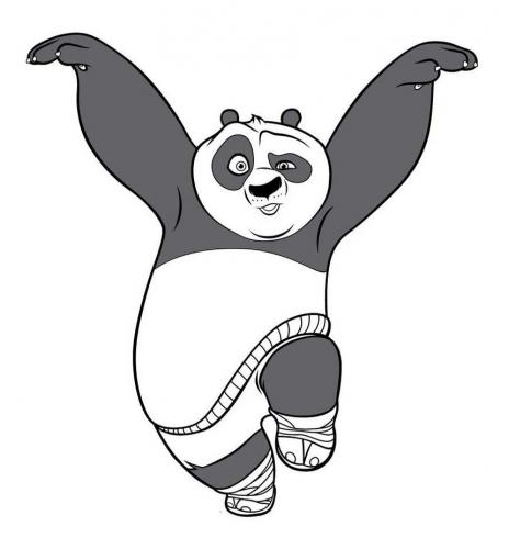 Kung Fu Panda disegni