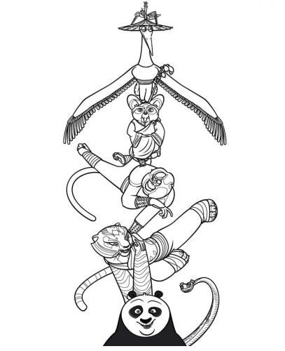 Kung Fu Panda immagini