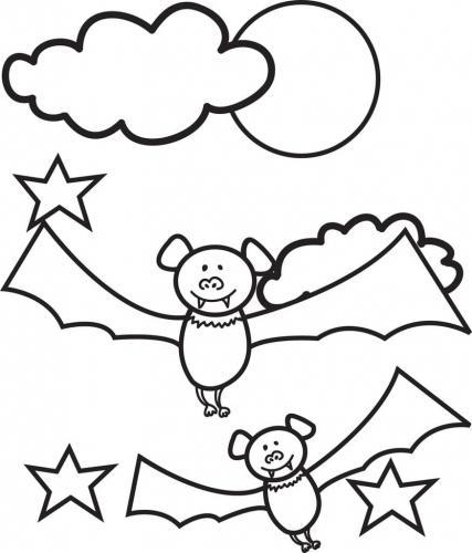 pipistrello felice