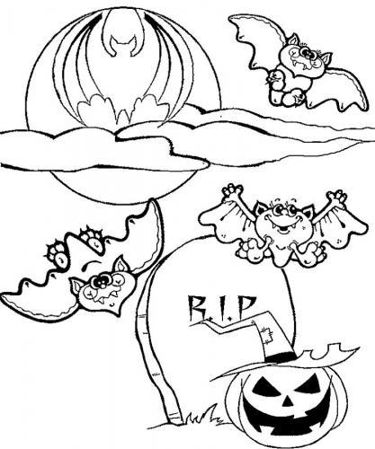 I pipistrelli al cimitero