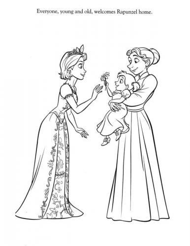 la principessa rapunzel
