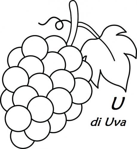 le lettere dell alfabeto italiano U