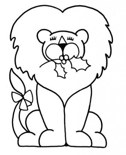 leone disegni da colorare