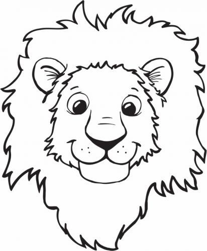 leoni da colorare