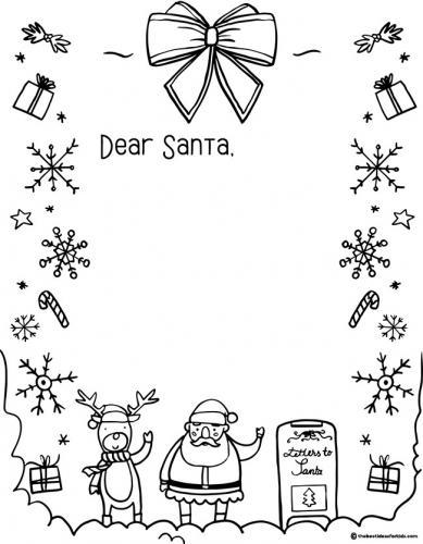 lettera di babbo Natale  (Dear Santa - Caro Babbo Natale)