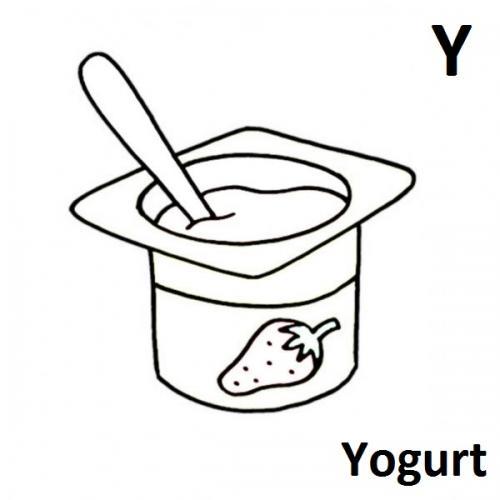 lettere alfabetiche Y
