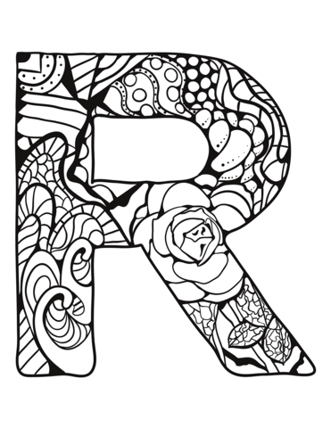 lettere alfabeto italiano R
