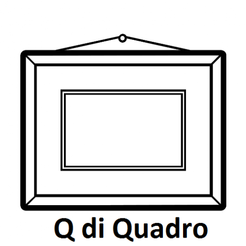 lettere animate da colorare Q