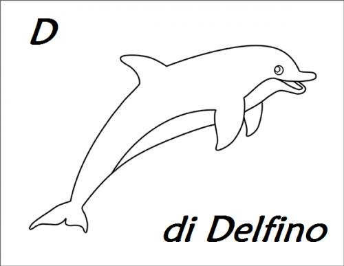 lettere colorate da stampare D