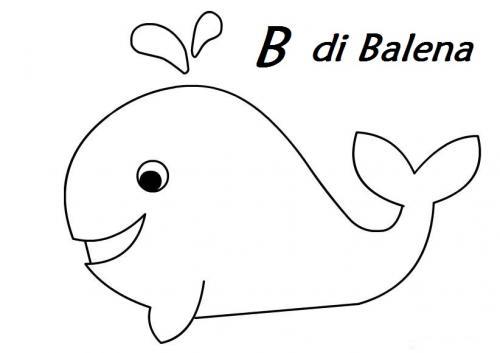 lettere da stampare B