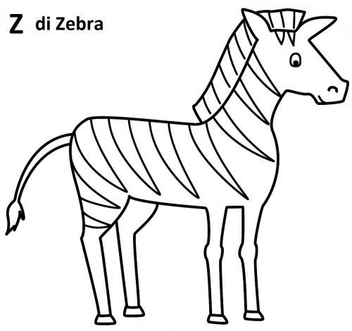 lettere dell'alfabeto da stampare