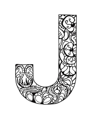 lettere dell'alfabeto particolari J