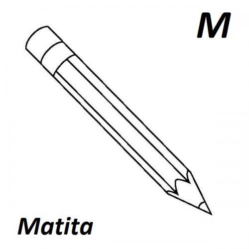 lettere dell'alfabeto M