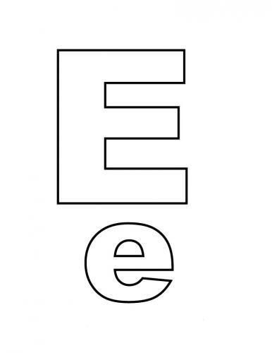 lettere in grassetto E