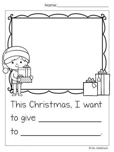 Letterina di Natale in inglese