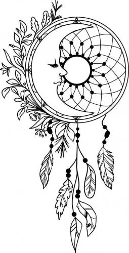 luna acchiappasogno